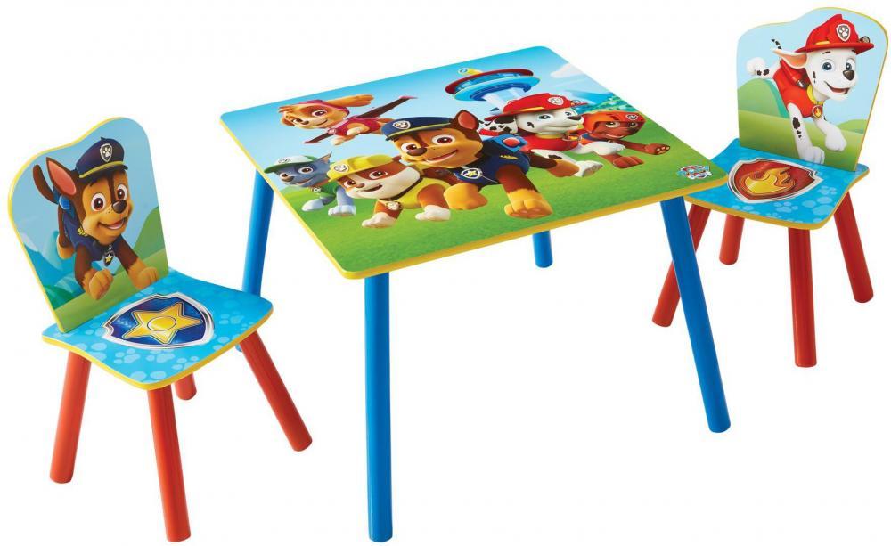 Image of Paw Patrol bord og stole - Paw Patrol børnemøbler 665275 (242-665275)