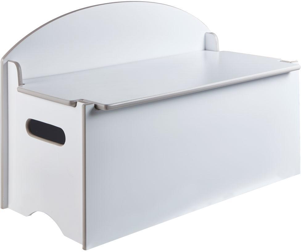 Image of Opbevaringsbænk Klassisk - Børnemøbler opbevaring kiste 669563 (242-669563)