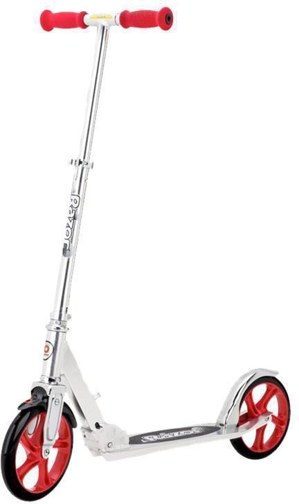 A5 LUX løbehjul 200 mm hjul rød - A5 LUX løbehjul 200 mm hjul rød