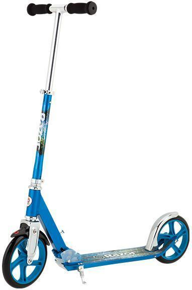 A5 LUX løbehjul 200 mm hjul blå - A5 LUX løbehjul 200 mm hjul blå