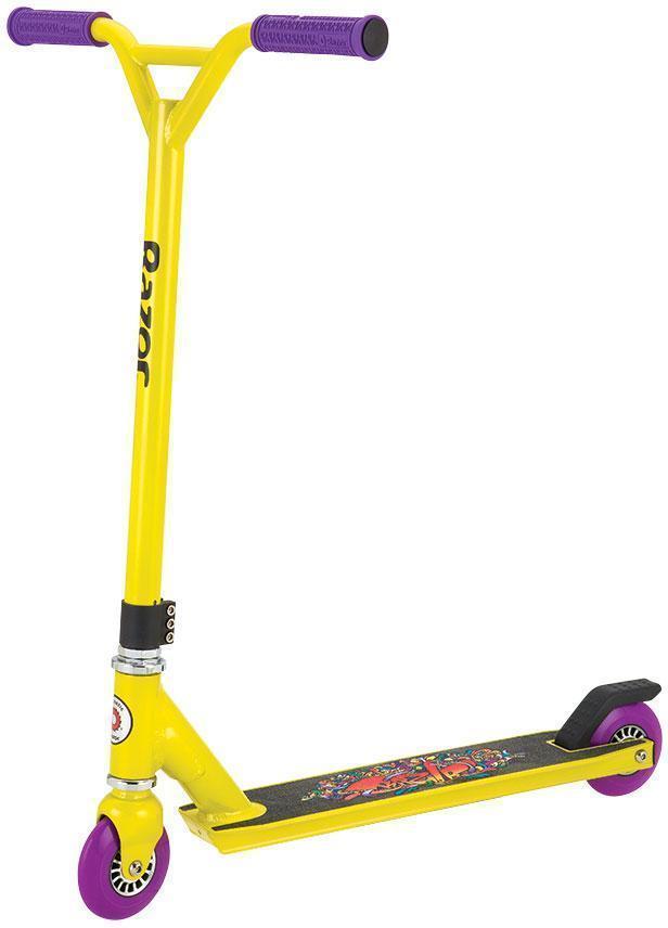 Image of BEAST stunt løbehjul gul - Razor løbehjul og boards 13059570 (246-014018)
