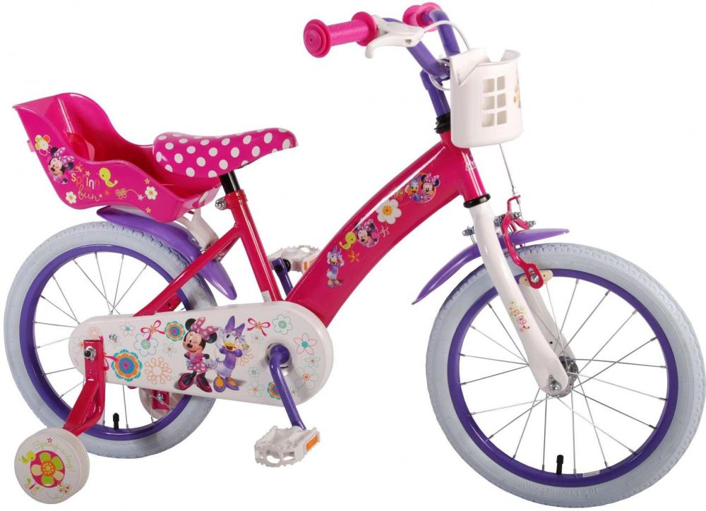 Minnie Mouse Børnecykel 16 tommer - Minnie Mouse Børnecykel 16 tommer