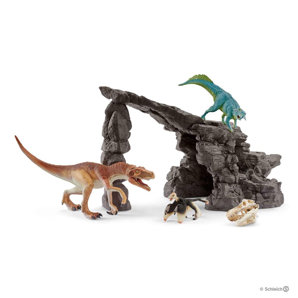 Dinosaurus sæt med hule - Dinosaurus sæt med hule