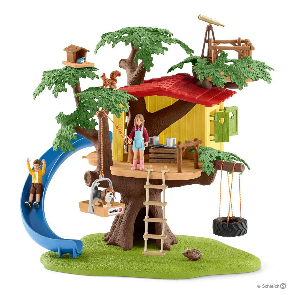 Eventyr træhus - schleich bondegård 42408 fra schleich fra eurotoys