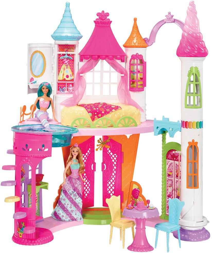 Barbie Dreamtopia Sweetvile dukkehus - Barbie Dreamtopia Sweetvile dukkehus