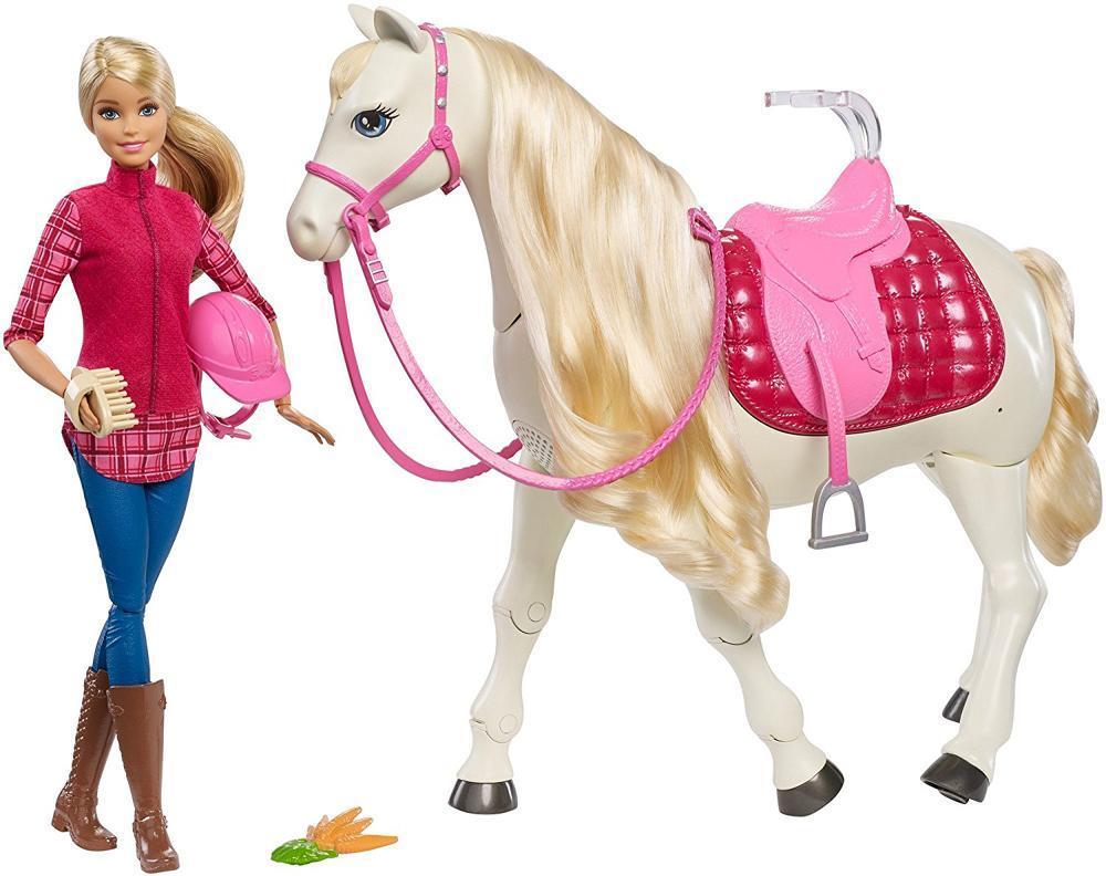 Image of   Barbie%20Dreamhorse%20hest%20og%20dukke - Barbie%20Dreamhorse%20hest%20og%20dukke