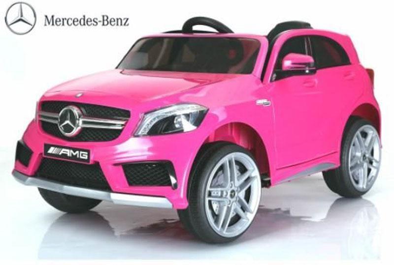 Mercedes A45 AMG 12V Pink - Mercedes A45 AMG 12V Pink