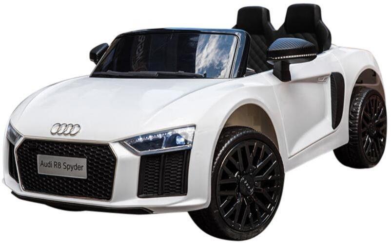Image of Audi R8 Hvid El bil 12V - El bil til børn 000442 (291-000442)