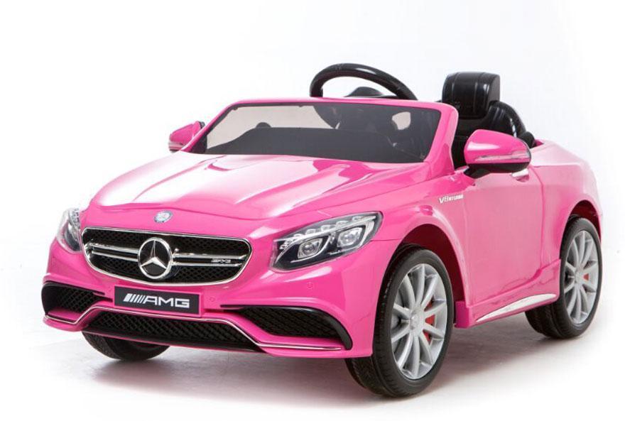 Mercedes S63 Pink 12V - Mercedes S63 Pink 12V