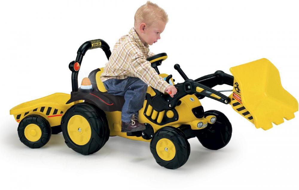 Image of Pedal traktor med grab - Injusa Køretøj Tractor 410 (298-000410)