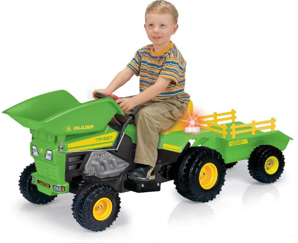 Traktor elbil 6v - Traktor elbil 6v