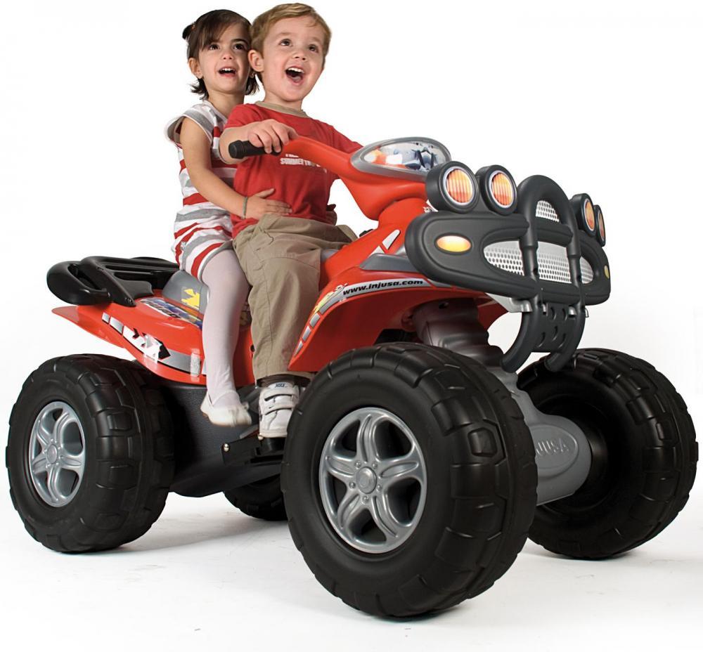 Image of Cyclops EL Motorcykel 12V - Injusa Elbil motorcykel til børn 663 (298-000663)