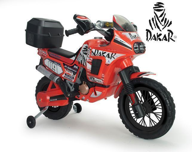 Dakar Rally El motorcykel 6v - Dakar Rally El motorcykel 6v