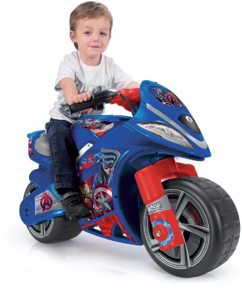 Image of Avengers elmotorcykel 6v - Injusa El Biler 64677 (298-064677)