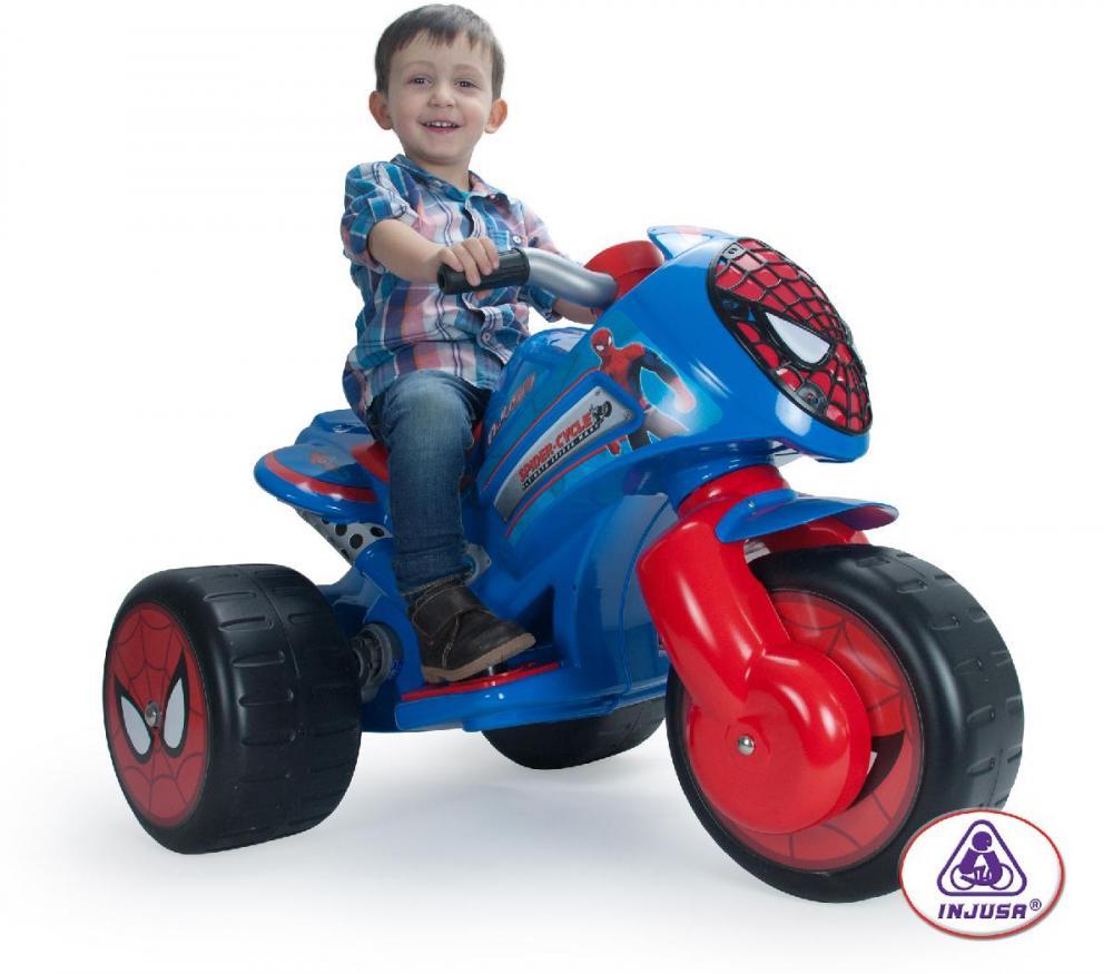 Image of   Spiderman%20el%20motorcykel%206V - Spiderman%20el%20motorcykel%206V