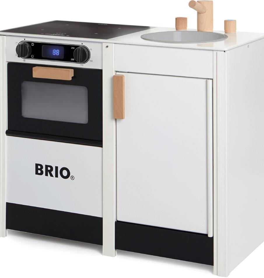 Image of BRIO Komfur med digital display og vask - Brio Komfur 031360 (30-031360)