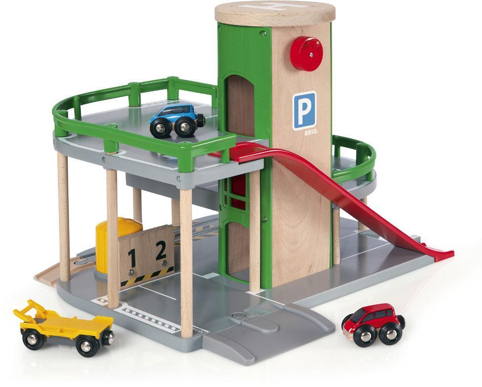 Image of Rail & Road parkeringshus - Brio Tog 33204 (30-033204)