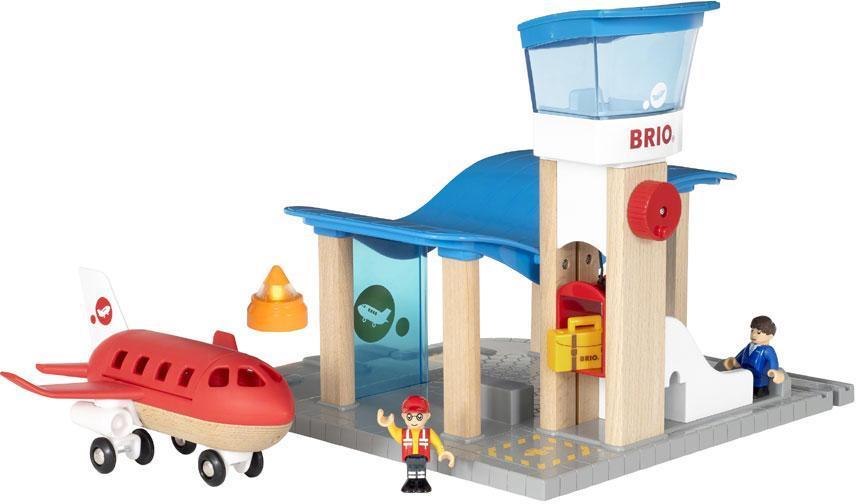 Image of Lufthavn med kontroltårn - Brio Flystation 33883 (30-033883)