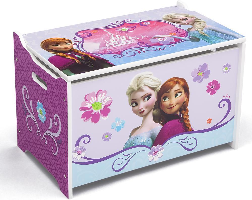 Image of Frost legetøjskiste - Disney Frozen Kister og opbevaring 04576 (303-045760)