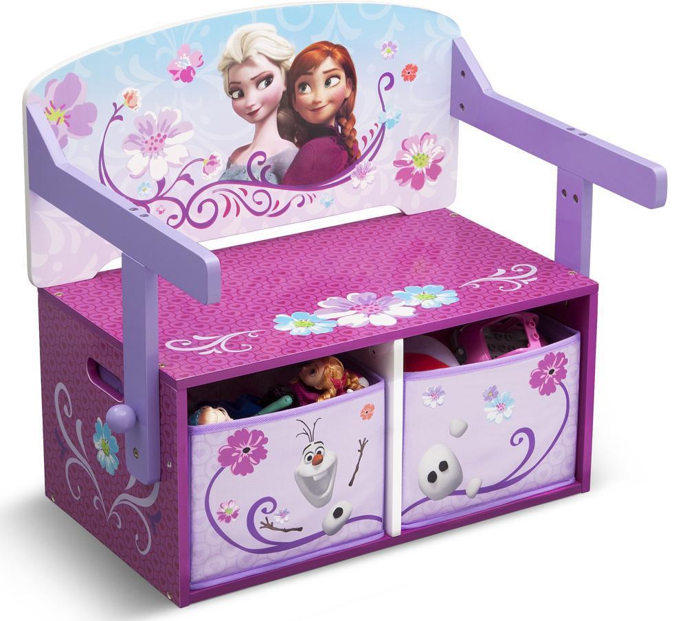 Image of Frost 3 i 1 bænk og bord - Disney Frozen Borde og stole 045784 (303-045784)