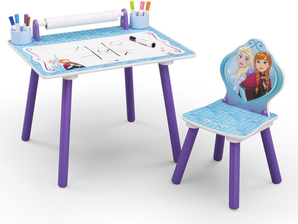 Image of Frost tegnebord med stol - Disney Frozen Borde og stole 048556 (303-048556)