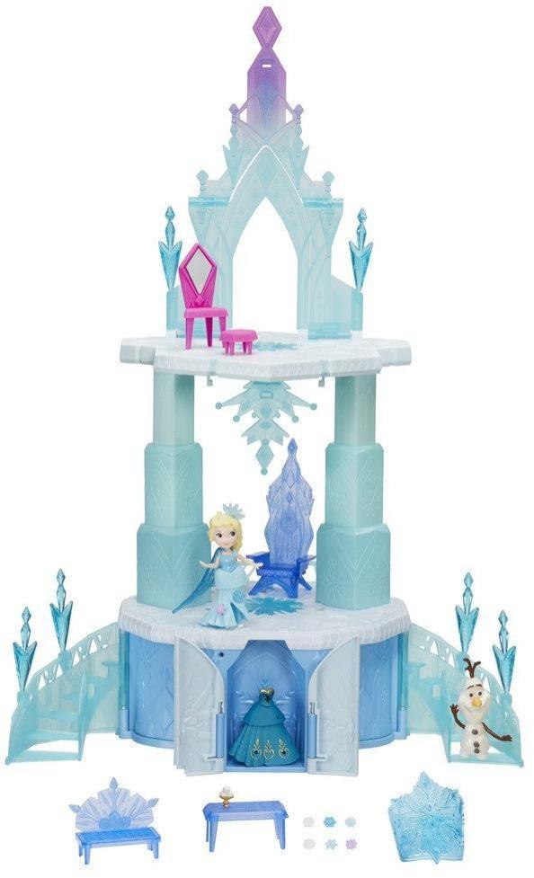 Image of Frost Elsa Magiske slot - Disney Frozen dukkehus B6253 (303-0B6253)