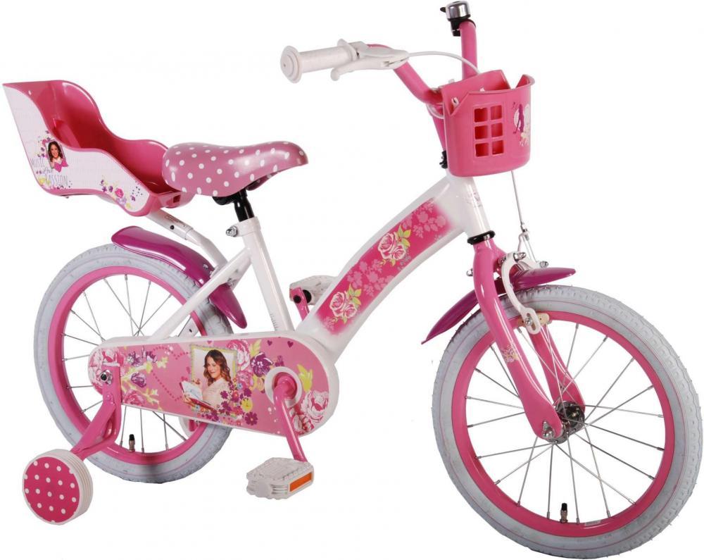Violetta Børnecykel 16 tommer - Violetta Børnecykel 16 tommer
