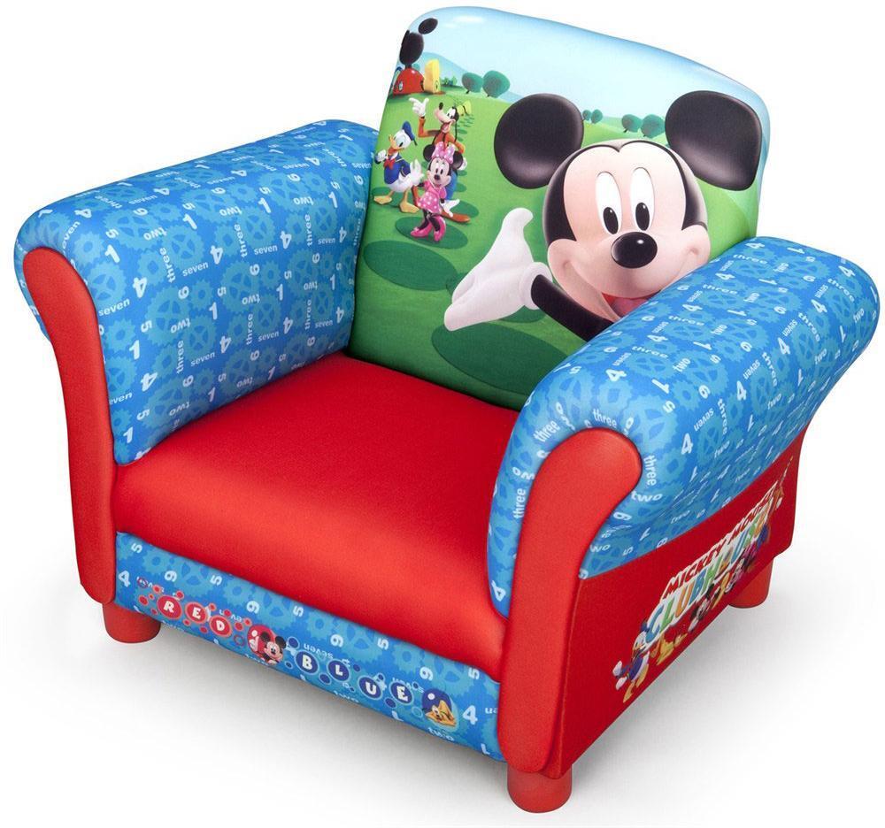 Image of Mickey Mouse Lænestol - Mickey Mouse Børnemøbler 016395 (313-016395)
