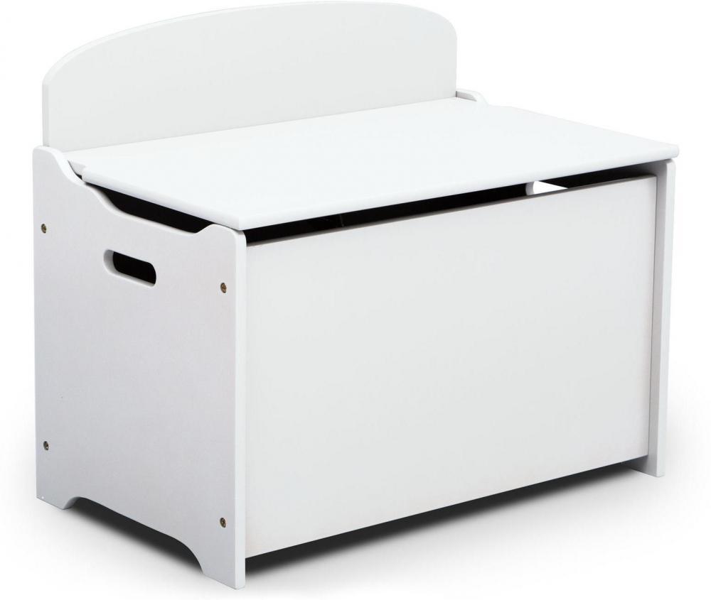 Image of Legetøjskiste Hvid - Børneværelse kister og opbevaring 74944 (313-074944)
