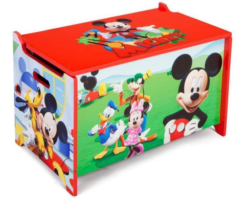 Mickey Mouse Legetøjskiste - Mickey Mouse Legetøjskiste
