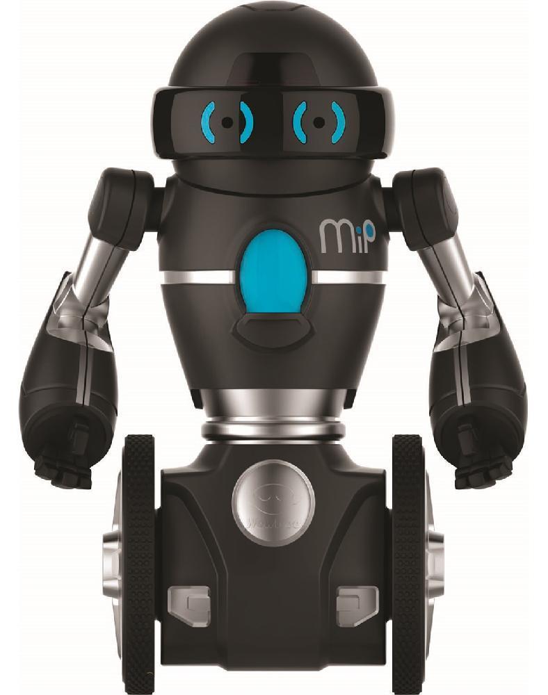 Image of WowWee MIP Sort - Sølv - WowWee fjernstyret Robotter WW-0825 (314-108252)