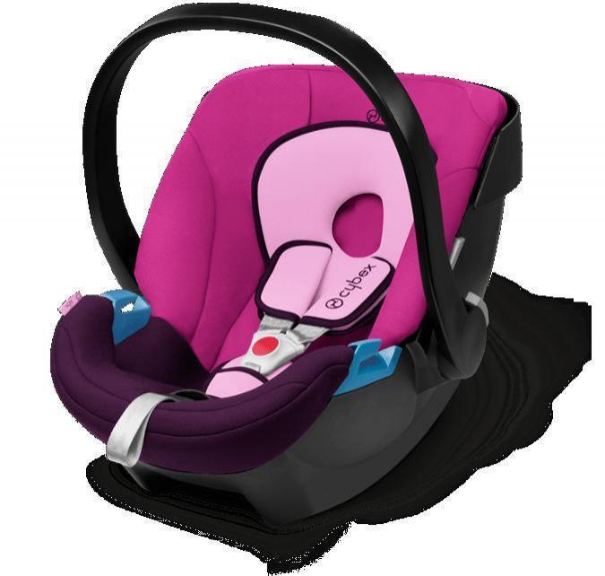 Image of Cybex Aton Purple Rain Baby autostol - CYBEX Babyudstyr Babyautostol 514103002 (362-103002)
