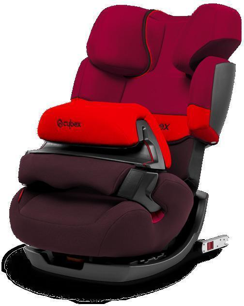 Cybex Pallas-Fix Rumba Red Autostol - Cybex Pallas-Fix Rumba Red Autostol