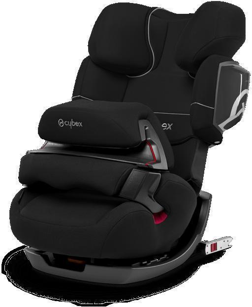 Cybex Pallas 2-Fix Pure Black Autostol - Cybex Pallas 2-Fix Pure Black Autostol