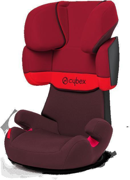 Cybex Solution X Rumba Red Autostol - Cybex Solution X Rumba Red Autostol