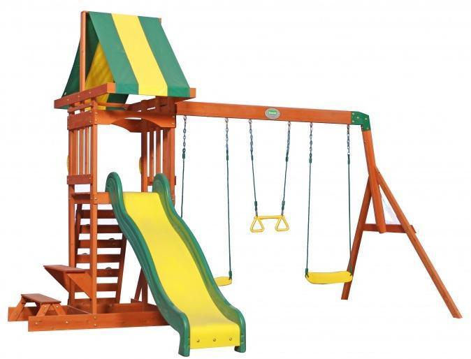 Image of Sunnydale udendøres legesæt - Backyard legeplads 808010 (370-808010)