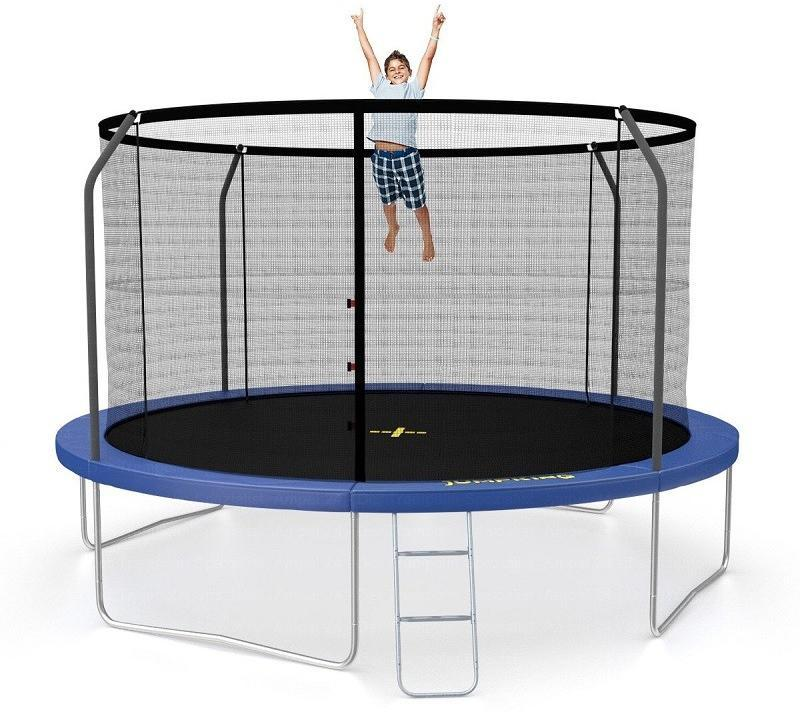 Image of   Jumpking%20Deluxe%20Trampolin%20430%20cm - Jumpking%20Deluxe%20Trampolin%20430%20cm