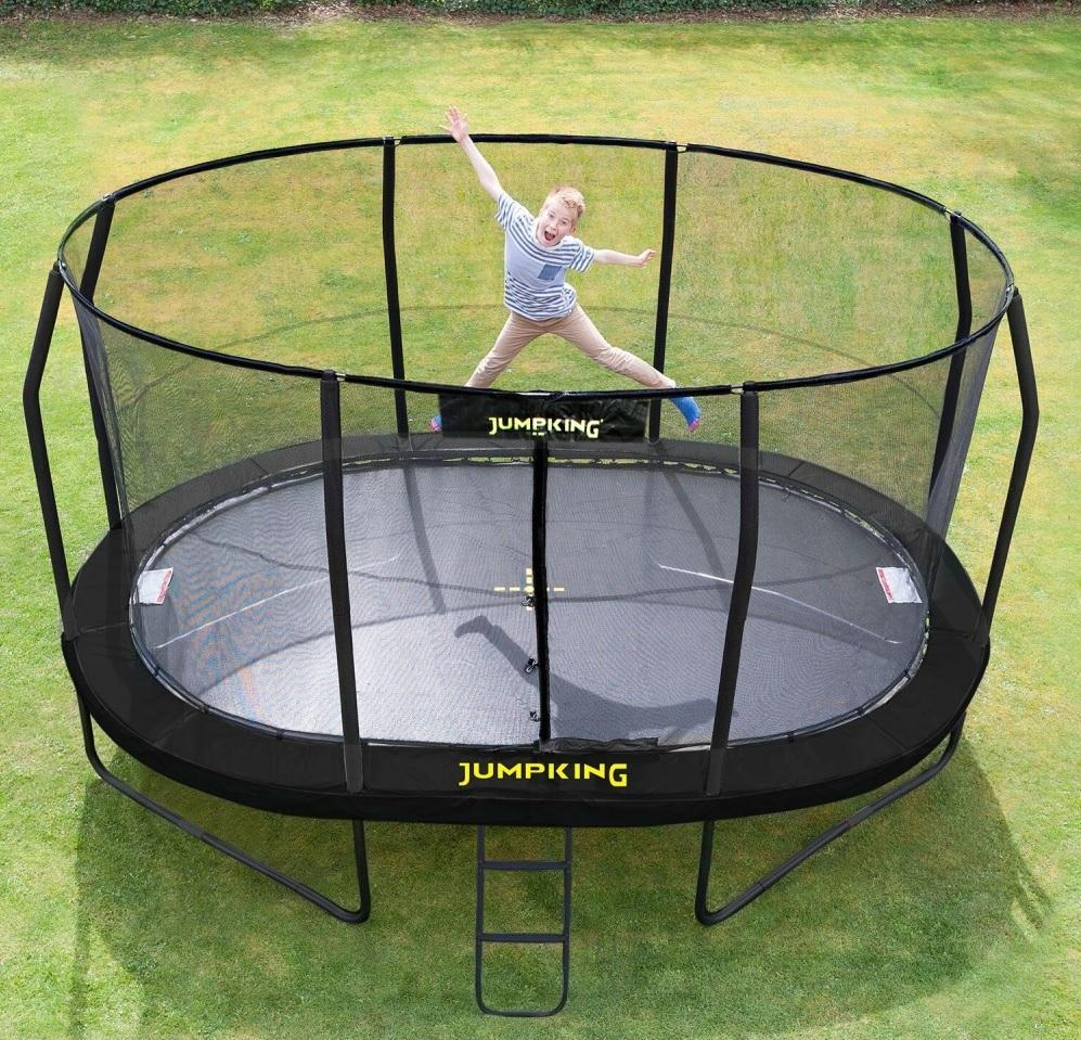 Image of   Jumpking%20Trampolin%20-%20460%20x%20305%20cm - Jumpking%20Trampolin%20-%20460%20x%20305%20cm