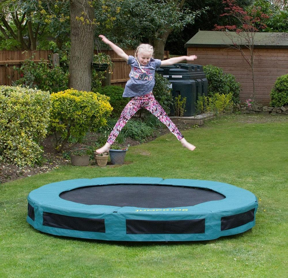 Image of Jumpking Inground Trampolin - 430 cm - Trampolin 335377 (373-335377)