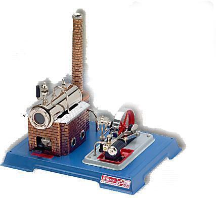 Image of Wil D 9 dampmaskine byggesæt D10 - Wilesco dampmaskiner D 9 (40-0000D09)