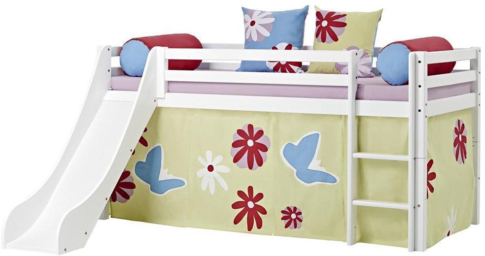 hoppekids halvhøj seng 90x200 cm - hoppekids butterfly seng 102113