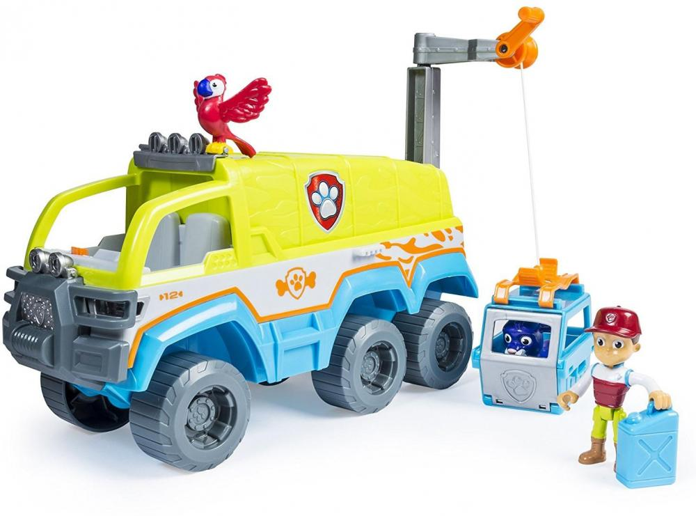 Paw Patrol Terrain Jungle bil - Paw Patrol Terrain Jungle bil
