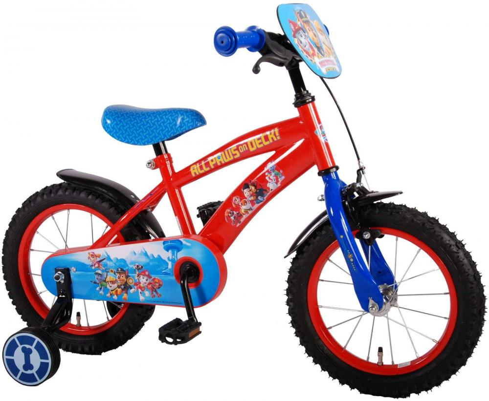 paw patrol Paw patrol børnecykel 14 tommer - paw patrol børnecykel 61450 på eurotoys