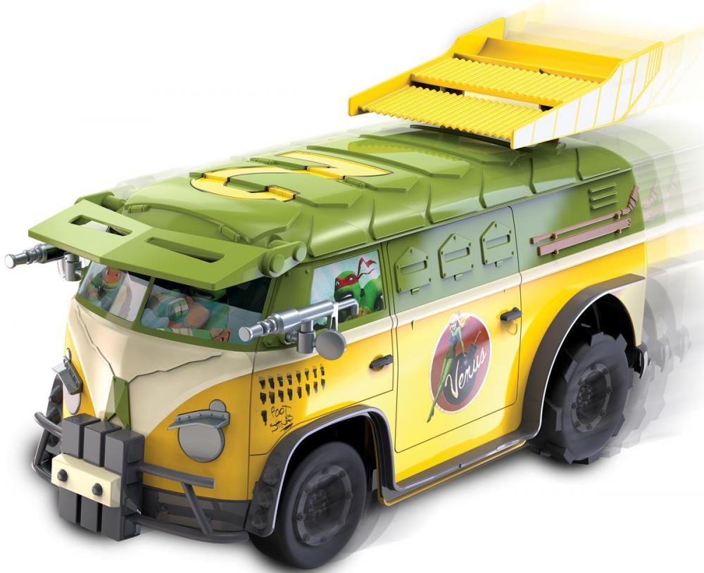 Image of Turtles Party Van RC - Toy State Fjernstyret bil 071000 (44-071000)