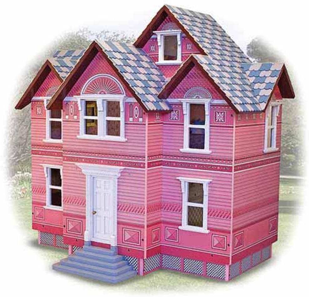 Stort Victoriansk dukkehus - Stort Victoriansk dukkehus