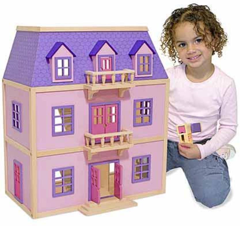 Dukkehus i træ - Dukkehus i træ