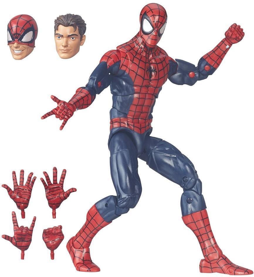 Spiderman deluxe figur 30 cm m/tilbehør - Spiderman deluxe figur 30 cm m/tilbehør