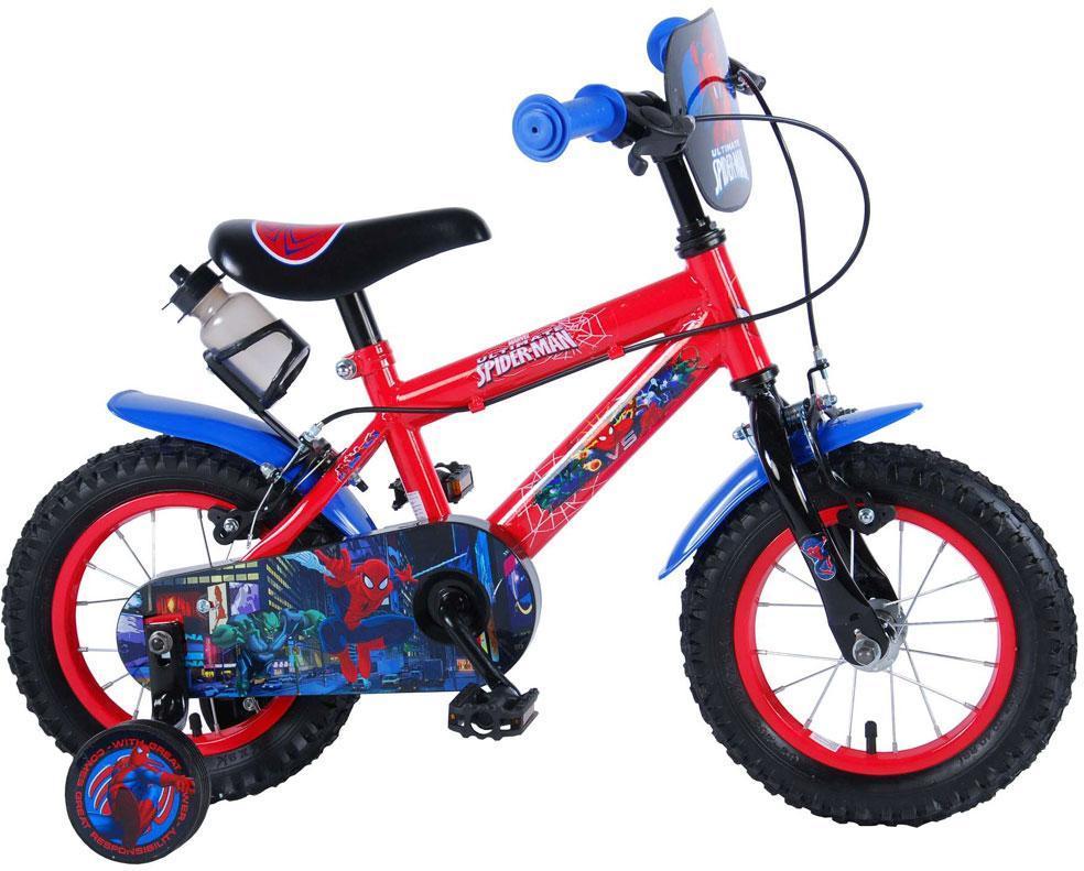 Spiderman Børnecykel 12 tommer - Spiderman Børnecykel 12 tommer