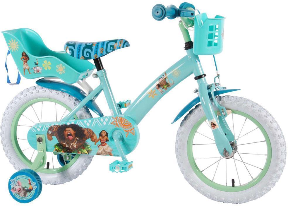Disney Vaiana Børnecykel 14 tommer - Disney Vaiana Børnecykel 14 tommer