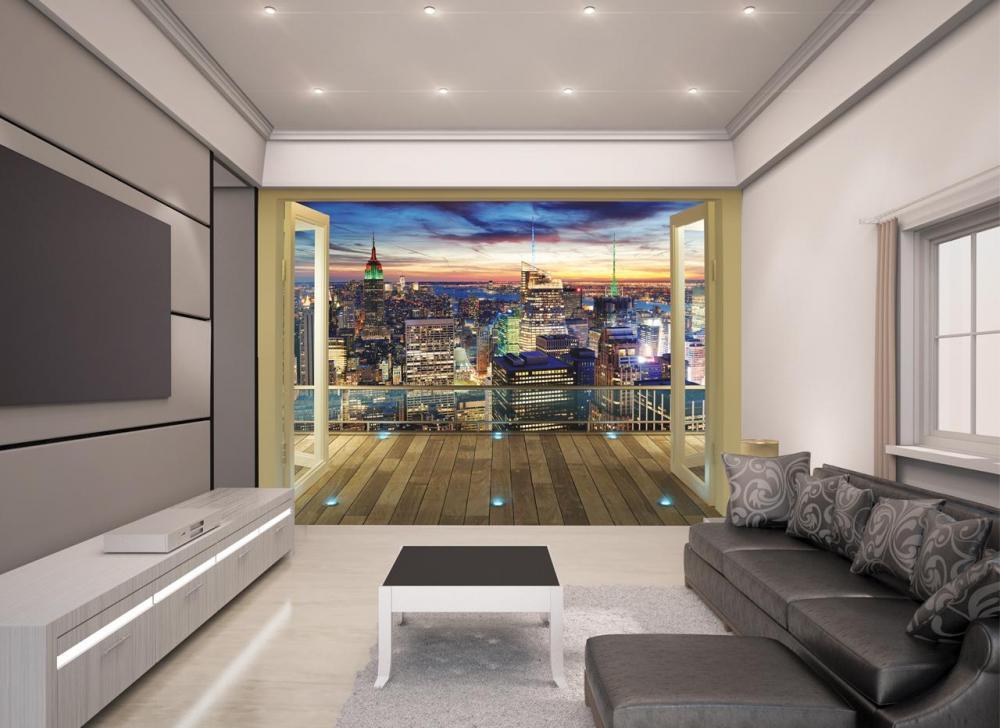 New York City Skyline tapet - New York City Skyline tapet